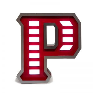 Letter P Graphic